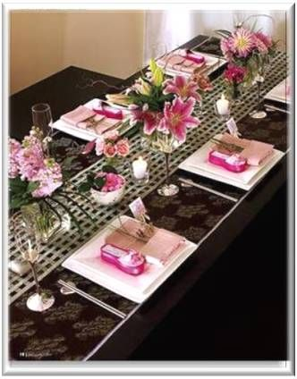 Baby Shower Decoration Ideas Pictures Dinner Table Decoration