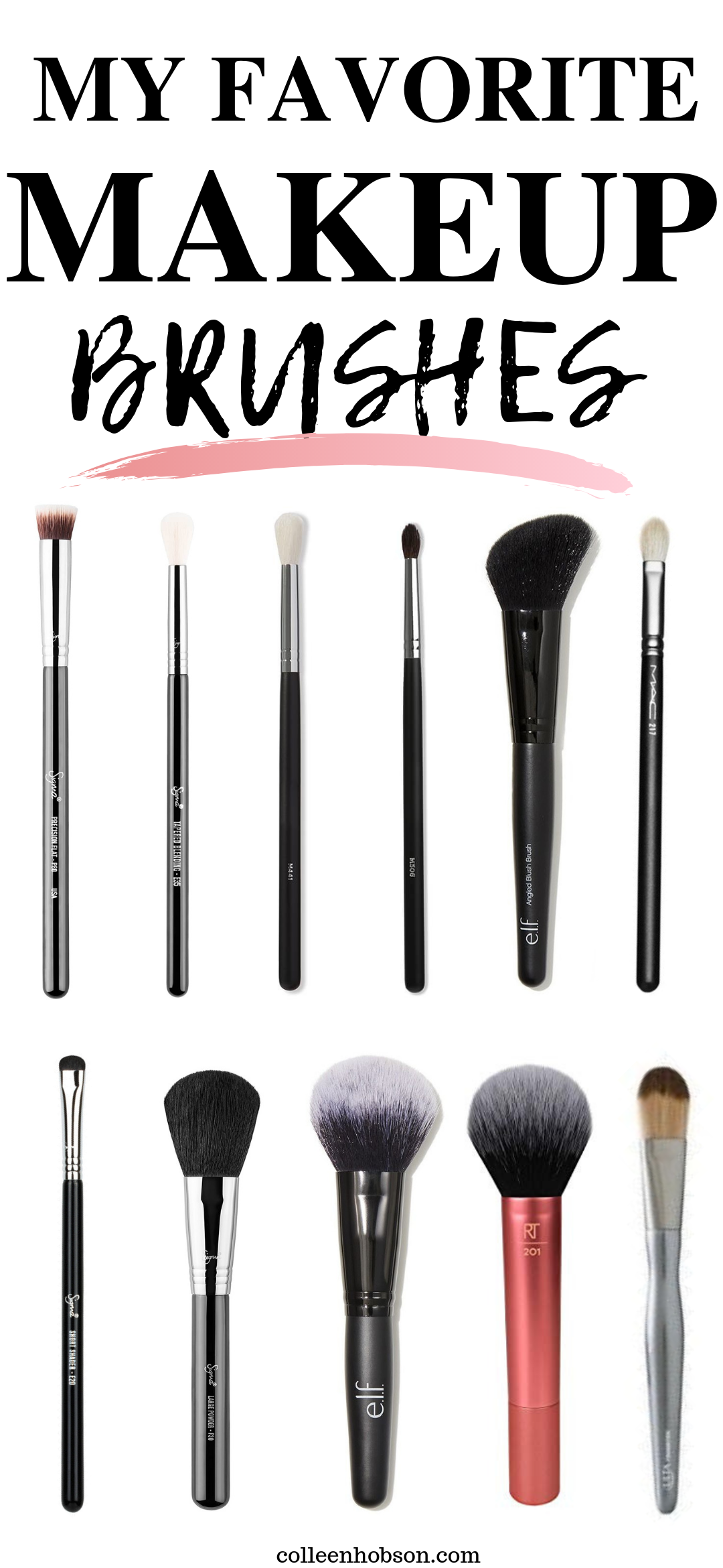 Photo of My Favorite Makeup Brushes – Colleen Hobson#brushes #colleen #favorite #hobson #…