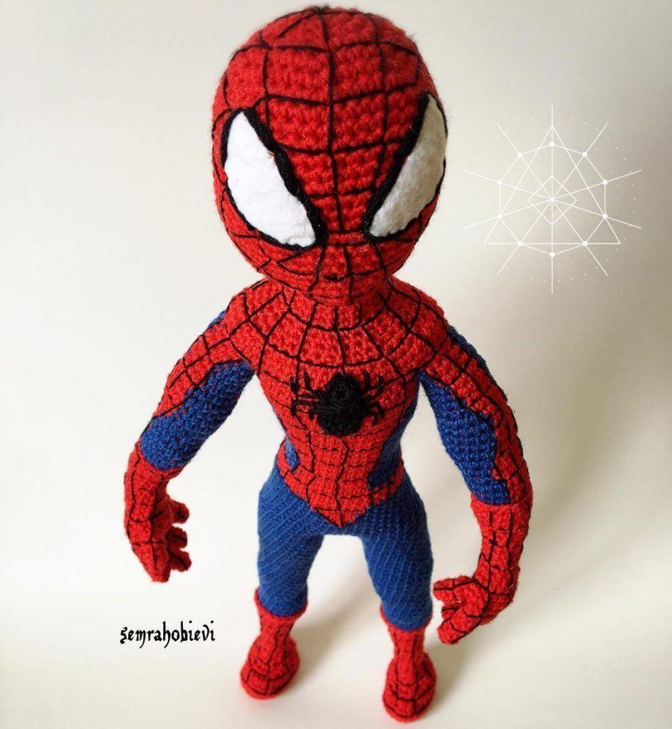 Amigurumi Live - https://crochet.msa.plus/amigurumi-spiderm ... | 1024x944