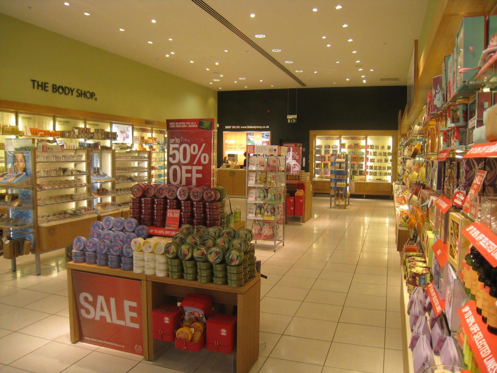 The Body Shop Interior Design