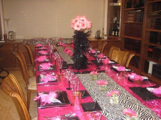 Esther Sassoons Zebra n Stripes Purim Party Theme Style Ideas