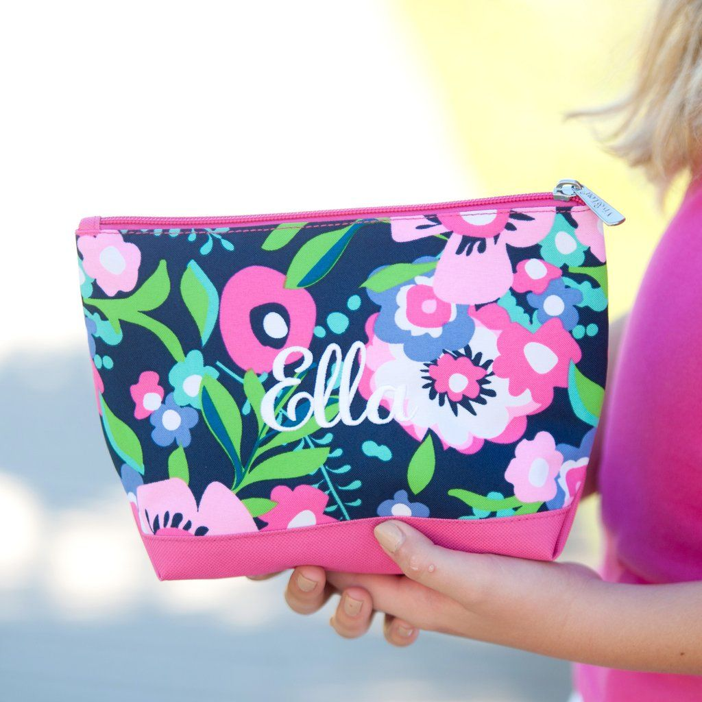 Posie Personalized Cosmetic Bag Personalized cosmetic