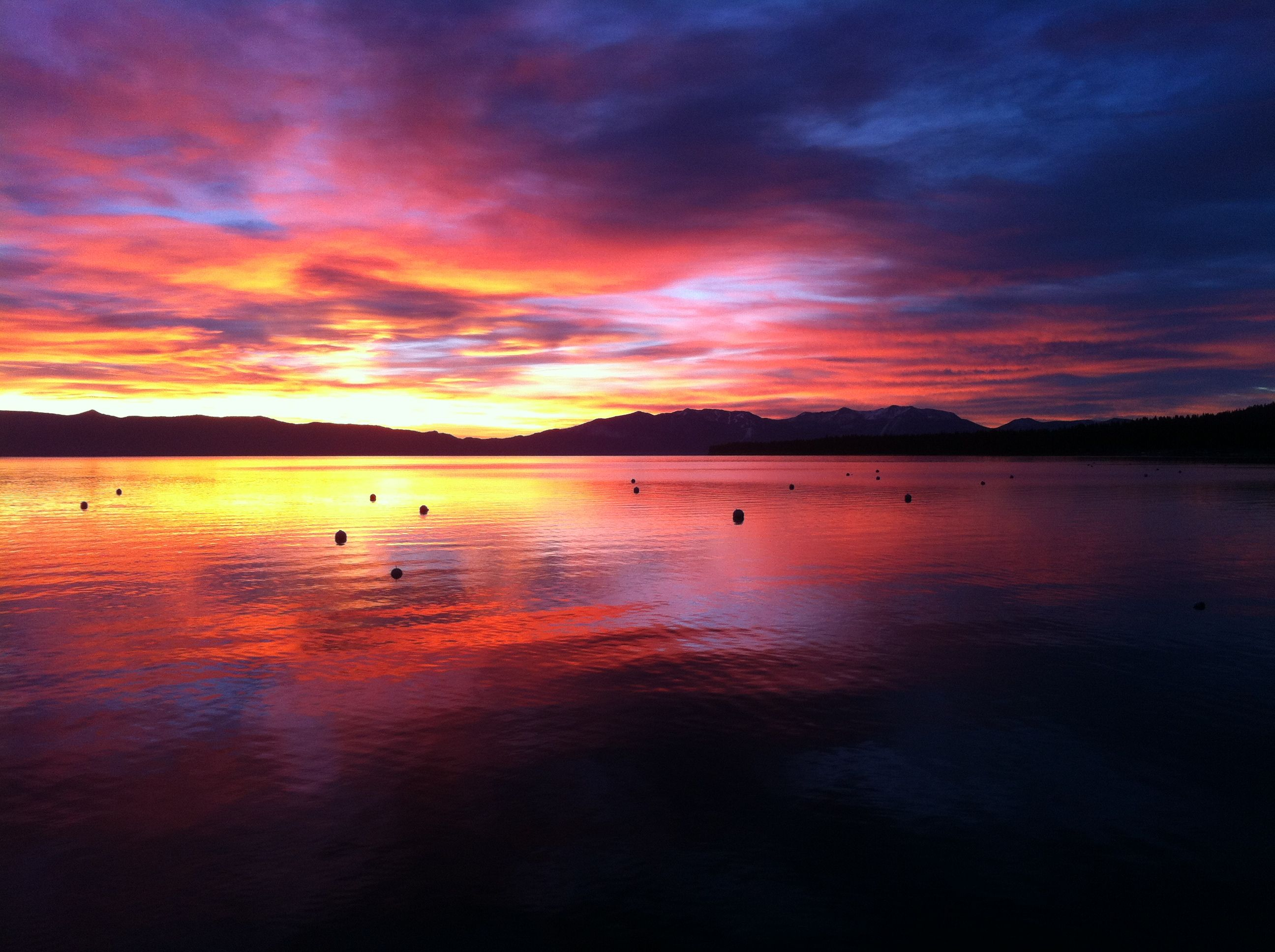 Lake tahoe sunset travel channel pinterest - Sunrise On The West Shore Of Lake Tahoe