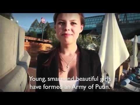 Putin recurrió a la vieja estrategia del sexo para lograr el apoyo de los rusos. Putin's Army [English Subs]
