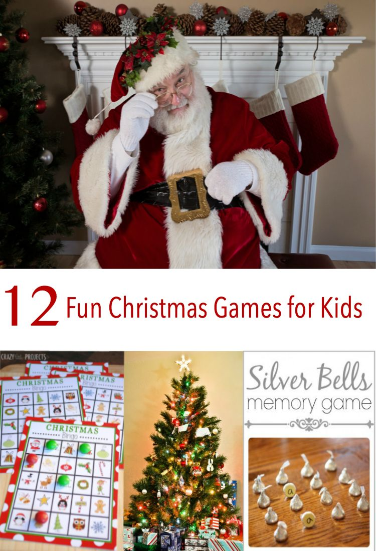 12-fun-christmas-games-for-kids | Holiday Ideas | Pinterest