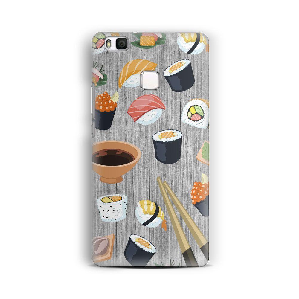 Huawei P9 Lite Case Sushi Time Huawei P9 Case Huawei P8 Case ...