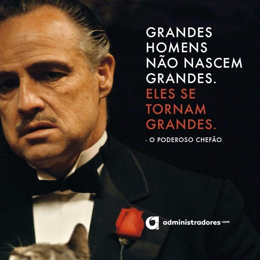 Grandes Homens Don Vito Corleone O Poderoso Chefão