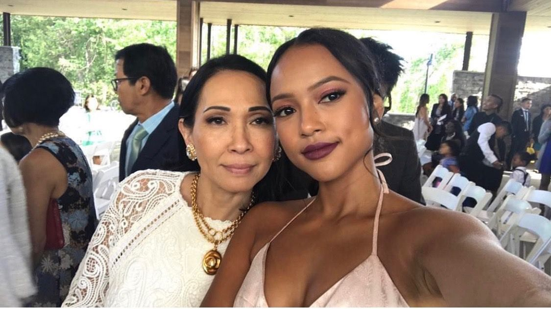 Karrueche and Mom | A Mother's Love | Pinterest