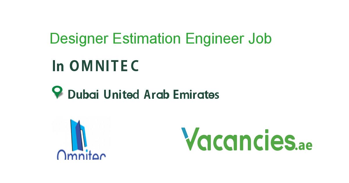 Designer Estimation Engineer Executive Jobs Business Development Job