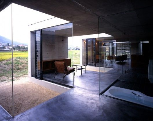 House in Gohara Suppose Design Office Idea Form