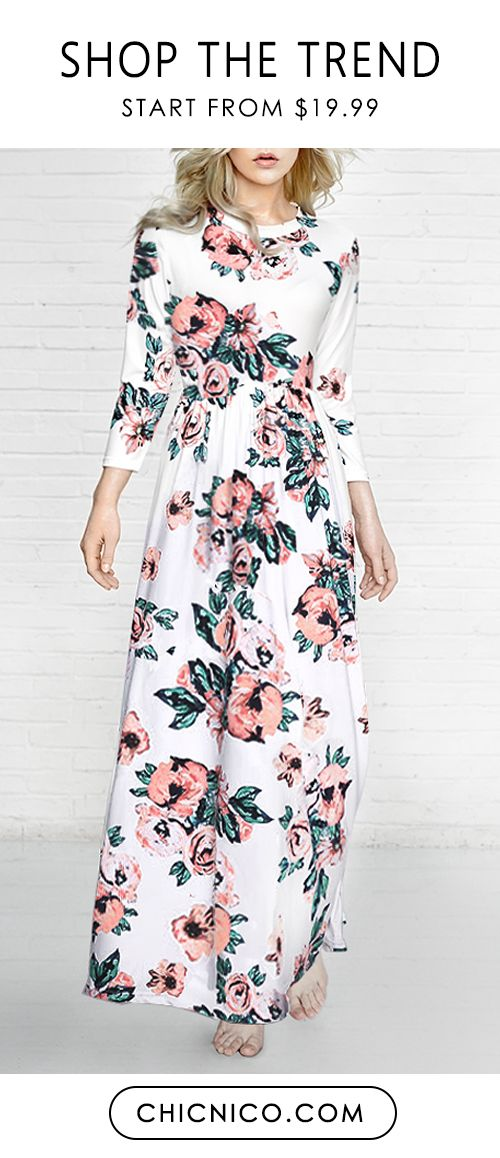 5afa1ac23 You can t go wrong with a classic floral dress! We are loving our