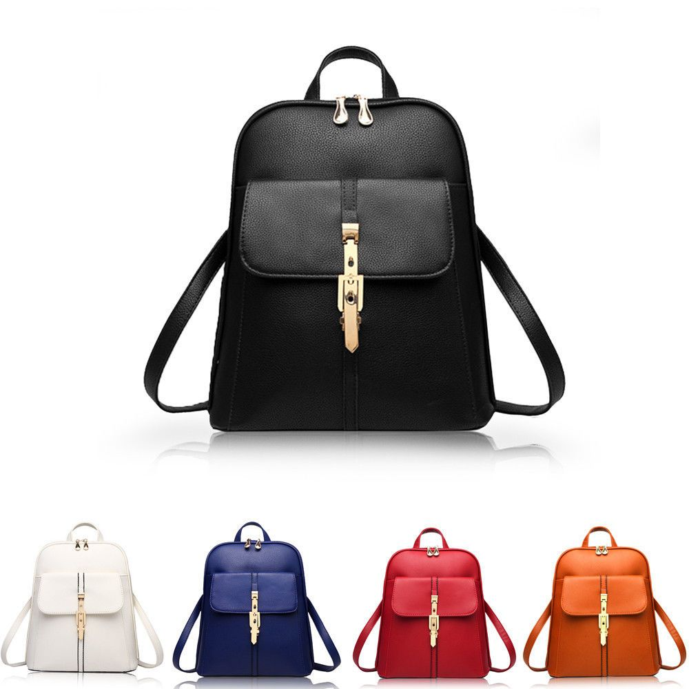 New Fashion Women Handbag Ladies Messenger Backpack Rucksack Tote Bag School Bag