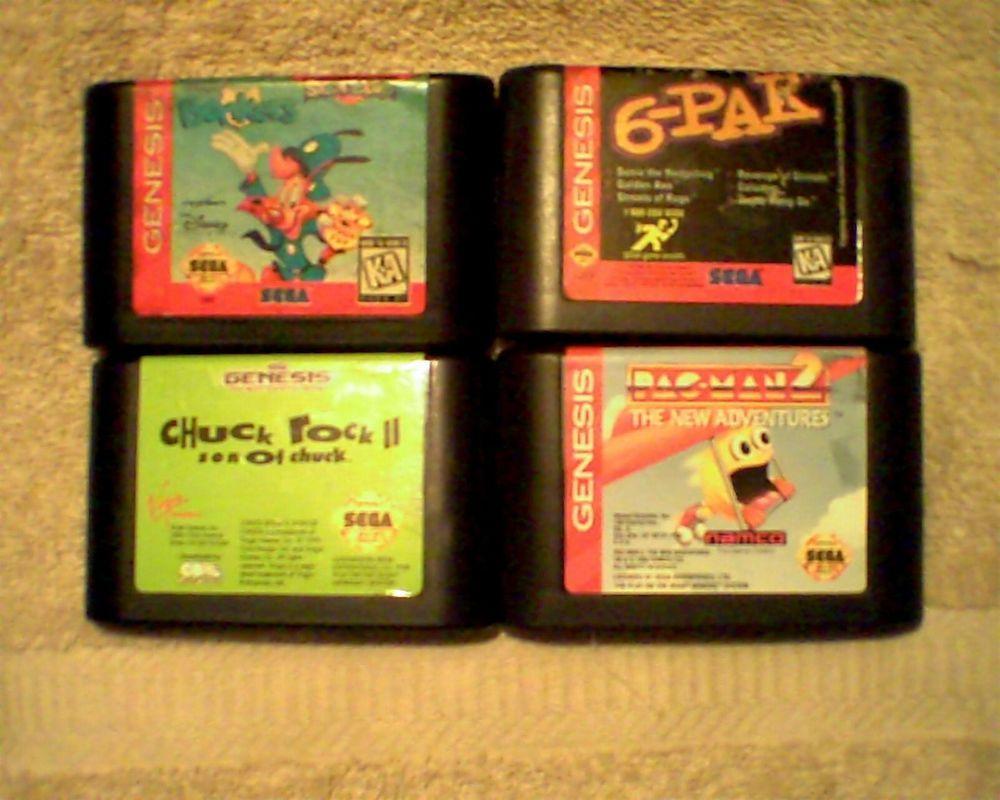 Rare Sega Genesis  Lot  (セガメガドライブ)(Sega MegaDrive)(Sega)(RARE)(Platformer)