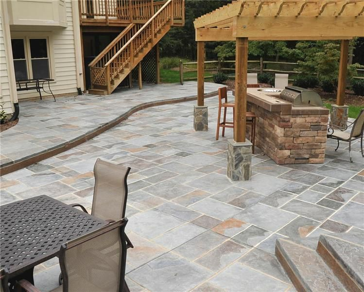 Salzano Custom Concrete Stamped Concrete And Decorative Resurfacing Concrete Patio Designs Decorative Concrete Patio Stamped Concrete Patio Designs