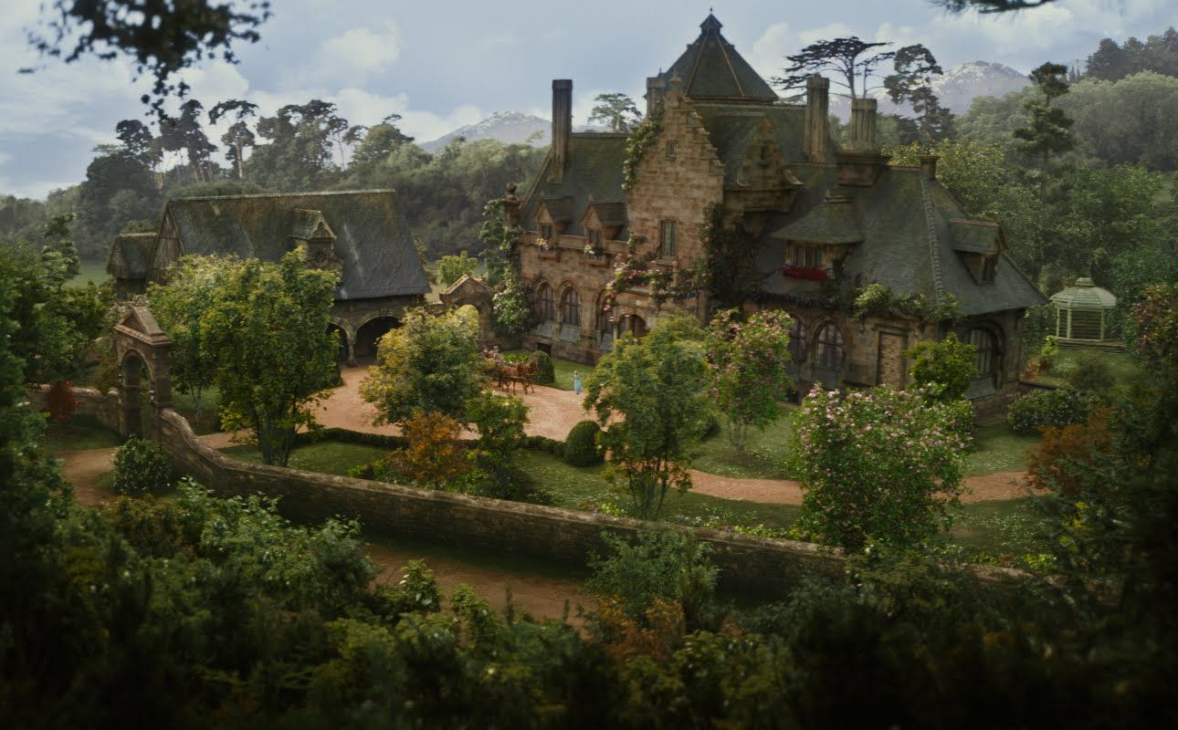 Cinderellas House In The Movie 2015 Google Search