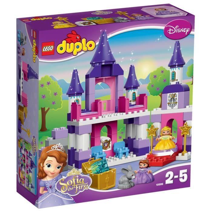 LEGO® DUPLO 10595 Château royal de Princesse Sofia - Achat / Vente assemblage construction - Cdiscount