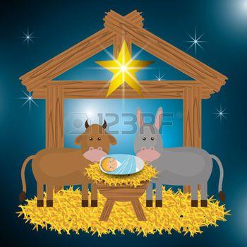 Dibujos animados feliz navidad, ilustraci n vectorial eps10 gr ...