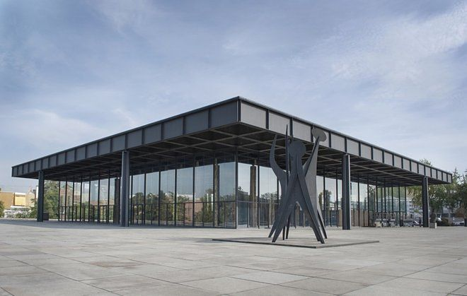 How Mies Van Der Rohe S Design For A Bacardi Hq In Cuba Became Berlin S Iconic Neue Nationalgalerie Van Der Rohe Mies Van Der Rohe Berlin Gallery