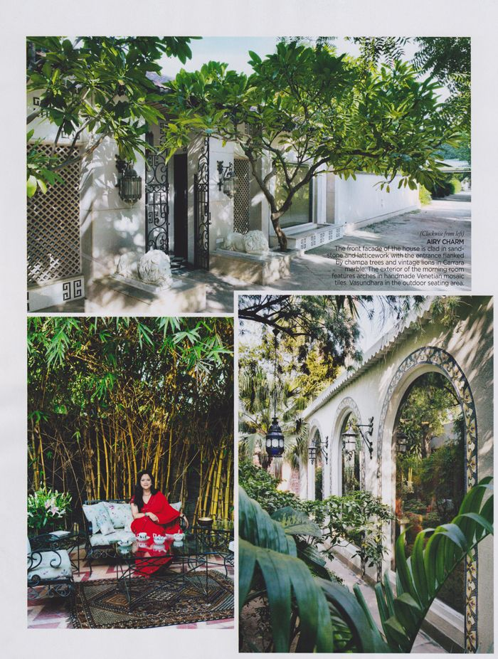 Airy Charm Charbagh Creative Director Adil Ahmad Took As Much Care With The Greenery Outdoors As He Did With The Int Sustainable Luxury Outdoor Beautiful Homes