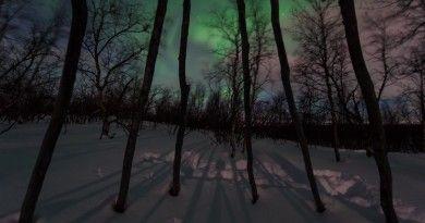 Auroras boreales desde Fairbanks, Alaska | El Universo Hoy
