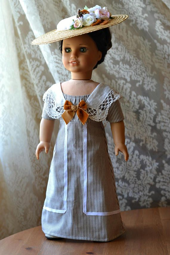 Reserved for loislemonda - Titanic Doll Dress Downton Abbey for ...