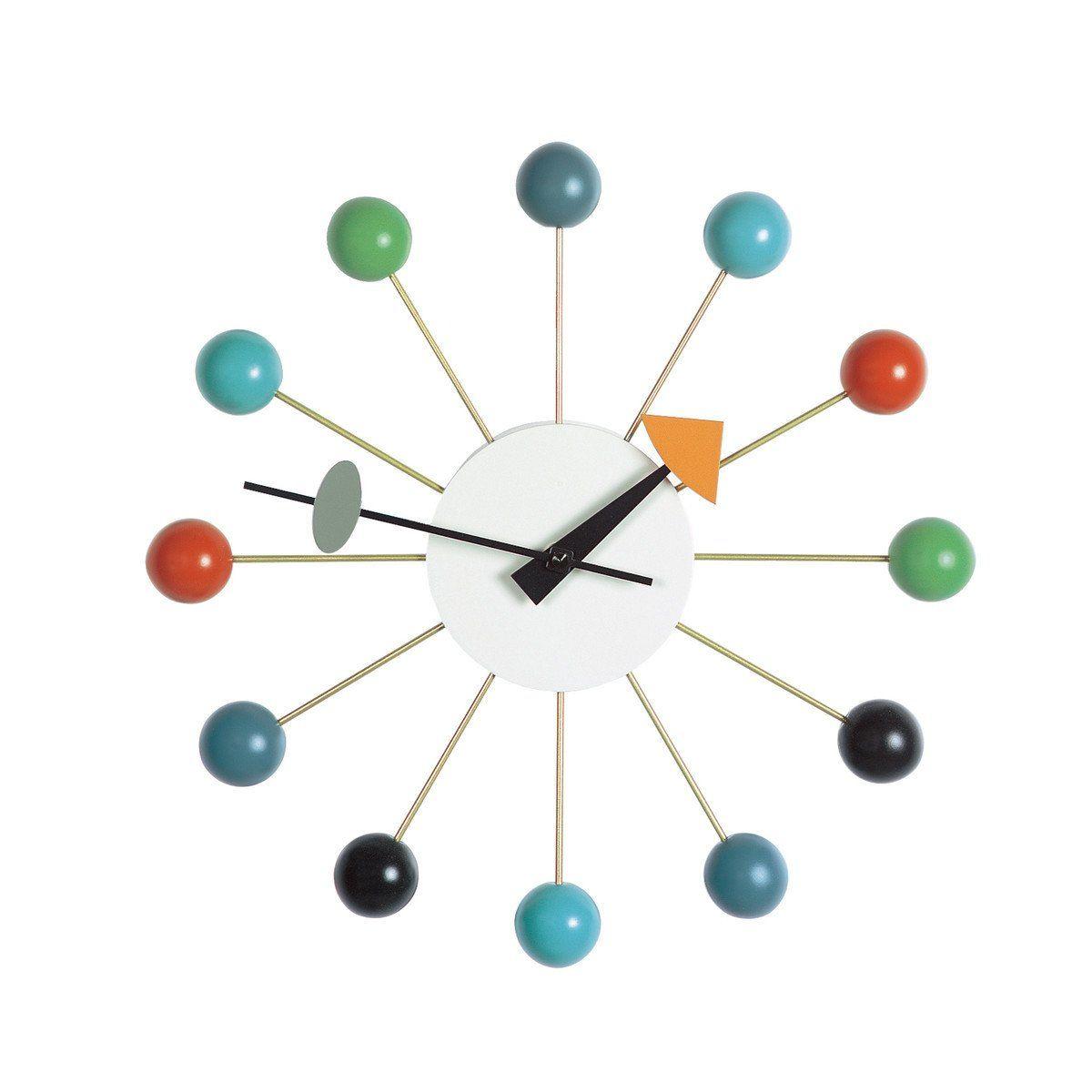 Vitra Nelson Ball Clock Nelson Ball Clock Clock Design George Nelson