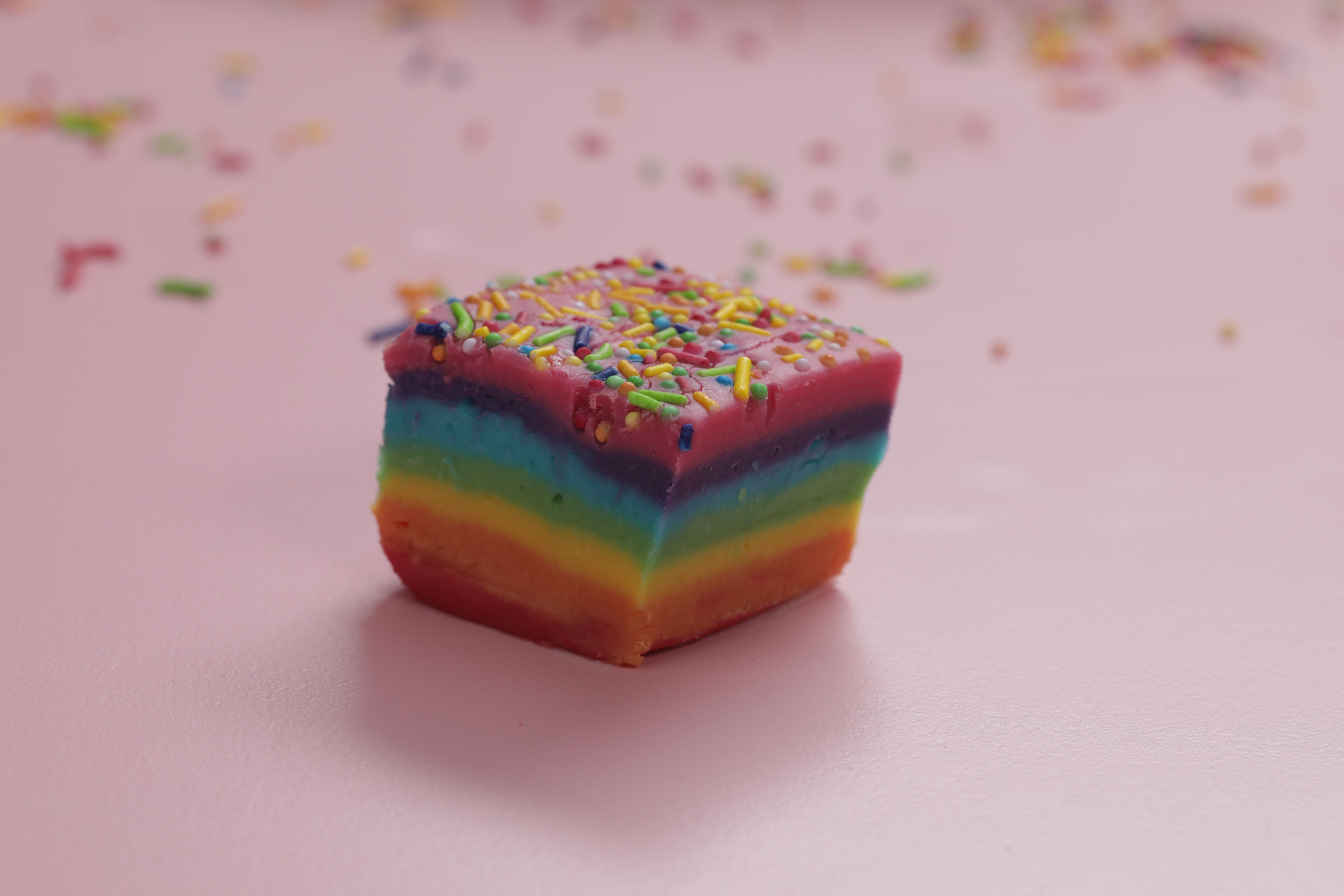 Our rainbow fudge might be the most colourful recipe we've ever made! Perfect for parties or just as a little treat!
