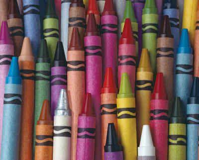 Sticks of Color ~ 1000 Piece Jigsaw Puzzle