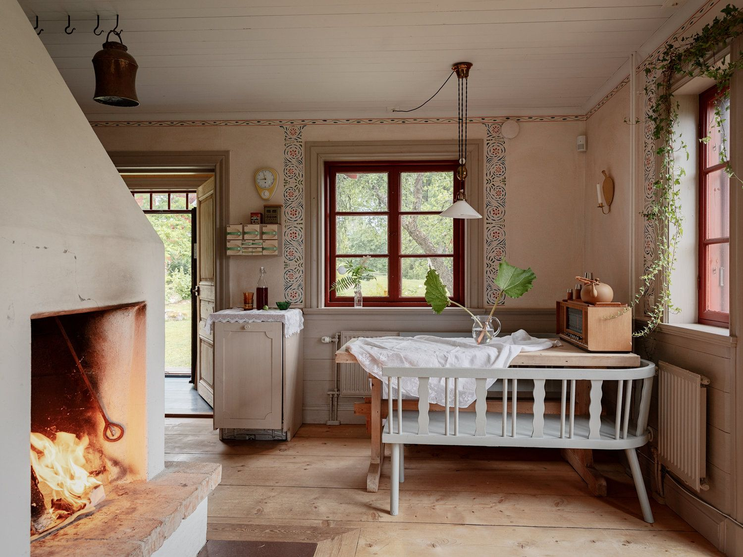 A Traditional Swedish Farm Surrounded By Nature The Nordroom Swedish Decor Country House Interior Swedish Cottage