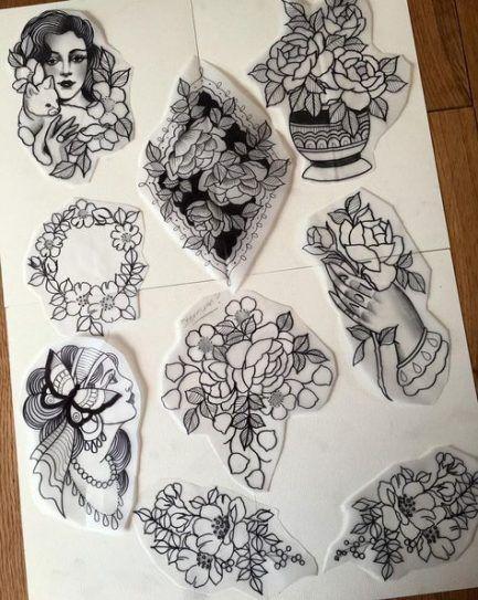 Tattoo old school chest style 64+ ideas