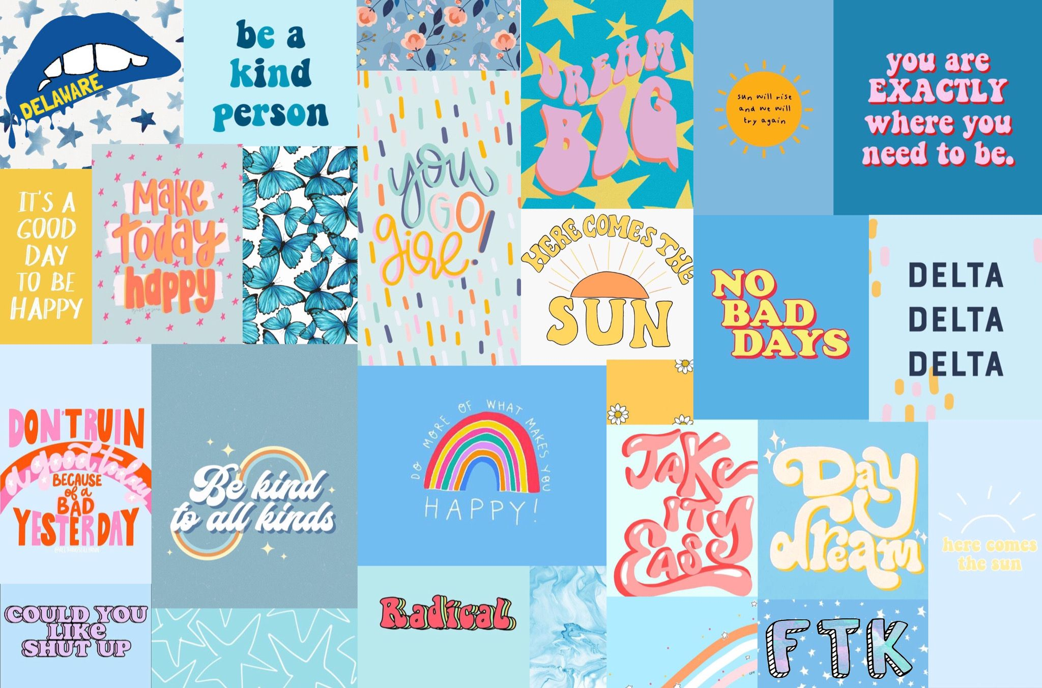 Wallpaper Lockscreen Desktop Blue Ocean Collage Vsco Ftk Ud Cute Desktop Wallpaper Laptop Wallpaper Iphone Wallpaper Pattern