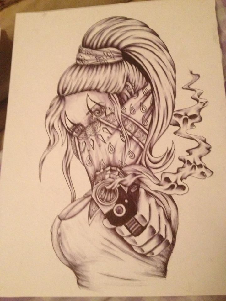 Prison Drawing by Jesse Silvestrini Tattoos 1
