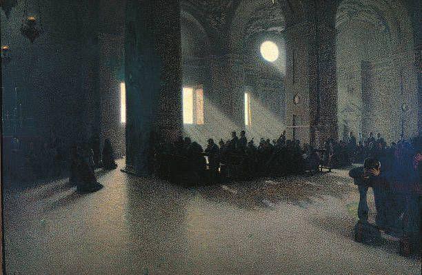 Angelo Morbelli - Solatium miseris