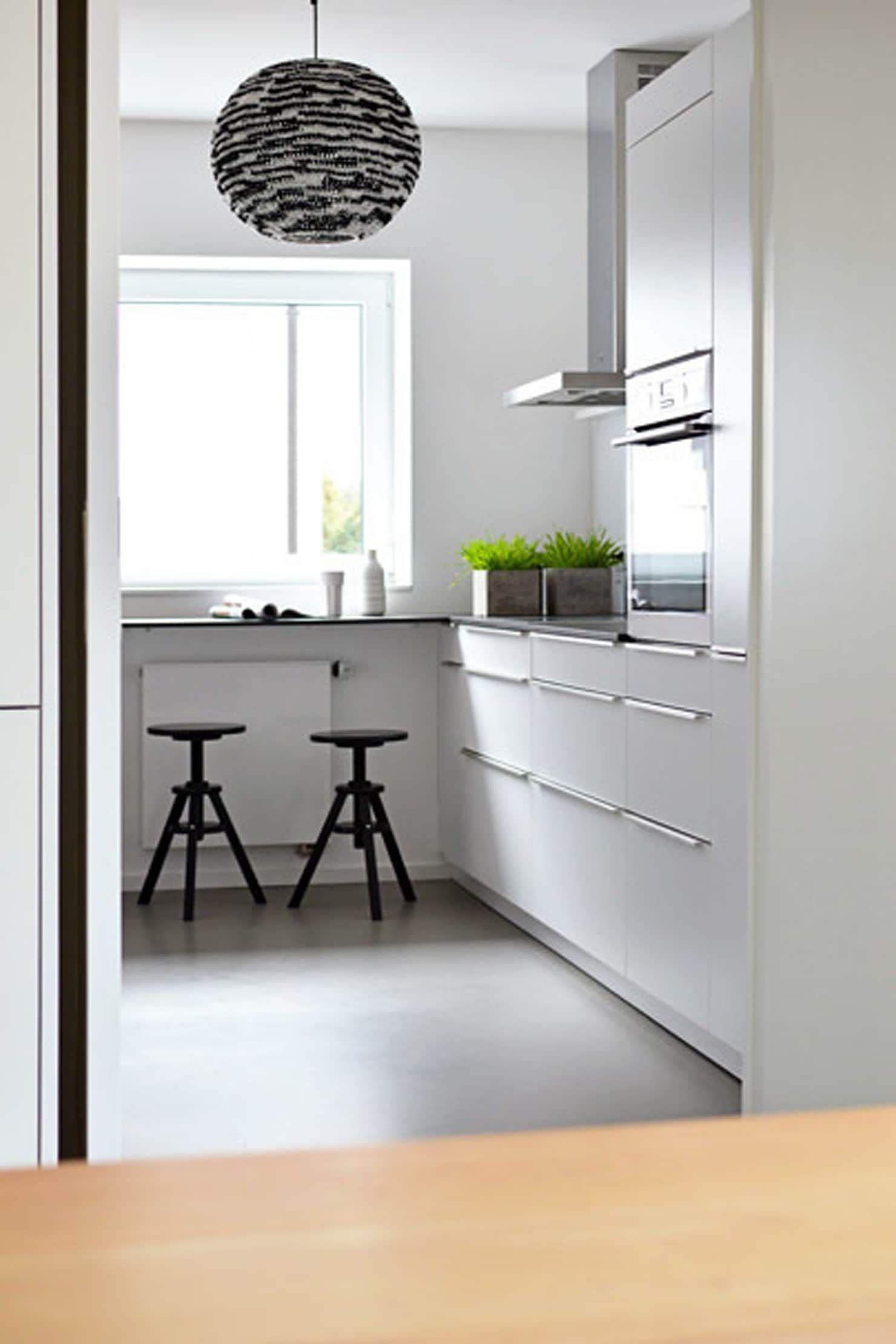 Küche von homify minimalistisch  Kleine küche, Kleine küche