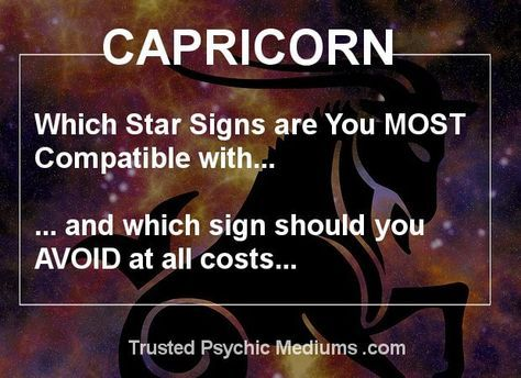 What Zodiac Signs Are Best Compatible With Capricorn?