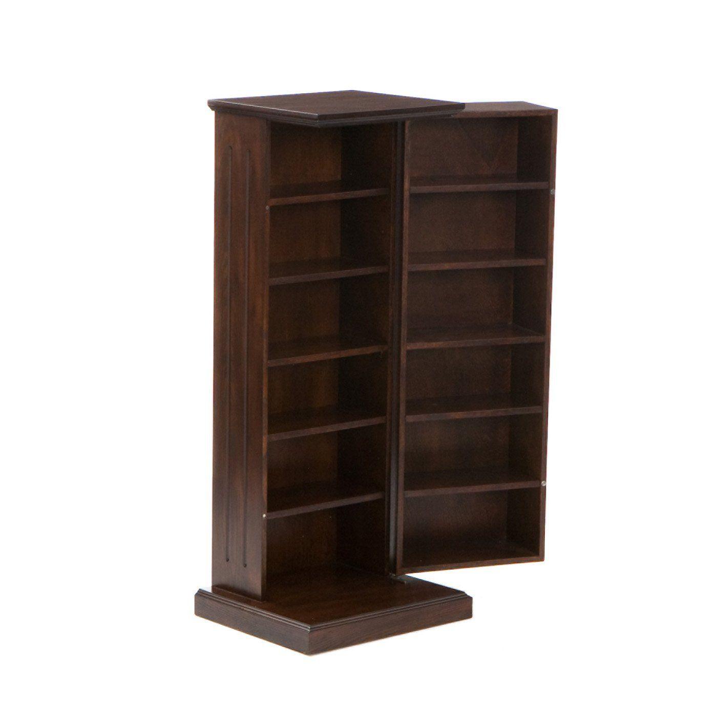 Media Storage Pedestal In Espresso Southern Enterprises Ms9213r