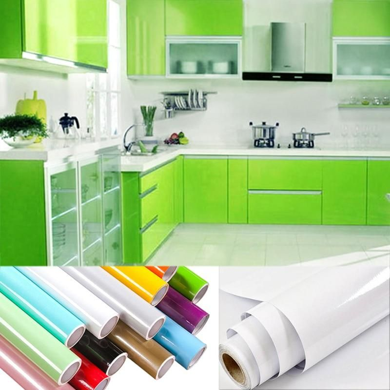 Pvc Kitchen Cupboard Stickers Add Cupboard Facia Easily And Cheaply 10 Colors Available Kitchen Remodel Cheap Home Decor Kitchen Cupboards
