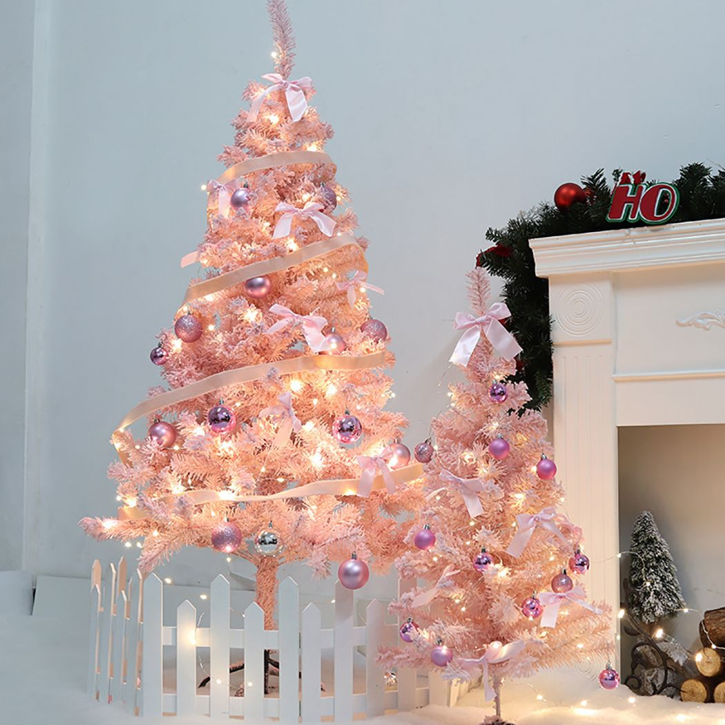 23 62 Artificial Christmas Tree Decorative Frosted Christmas Pine Tree Christmas Decoration Walmar Pink Christmas Tree Christmas Tree Tinsel Christmas Tree