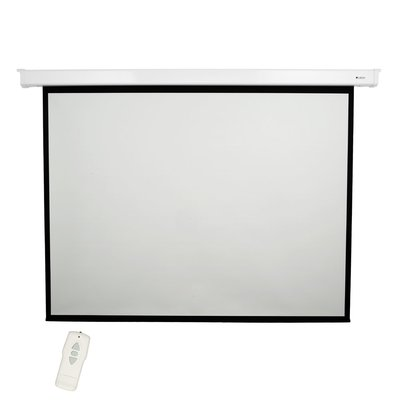 Loch Matte White 120 Diagonal Electric Projection Screen In 2020 Projector Screen Projection Screen Inflatable Movie Screen
