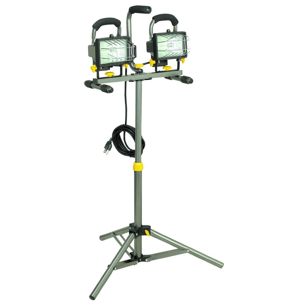 Luminar Work 40123 500 Watt Dual Head Halogen Shop Light 29 99
