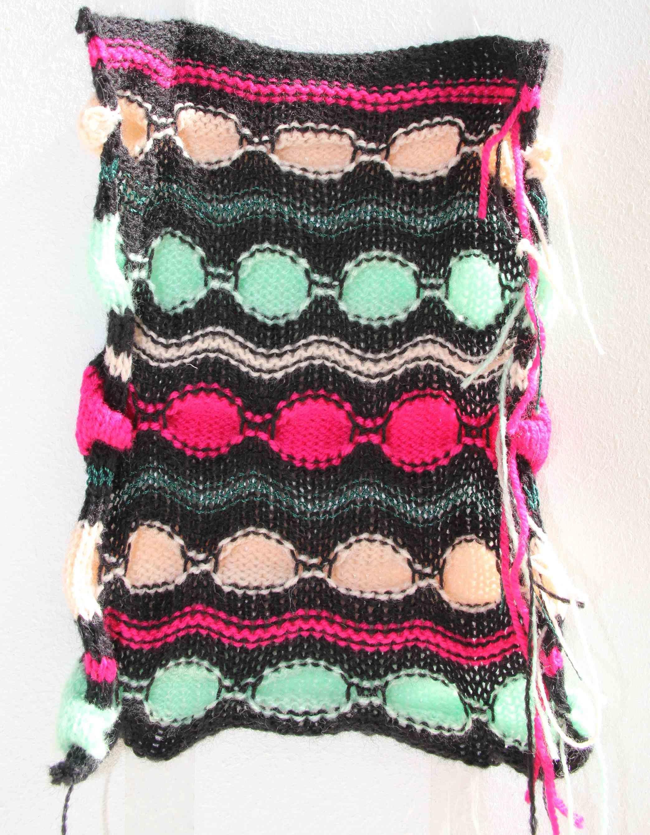 Colorful Mensstrickschal Muster Gift - Decke Stricken Muster ...