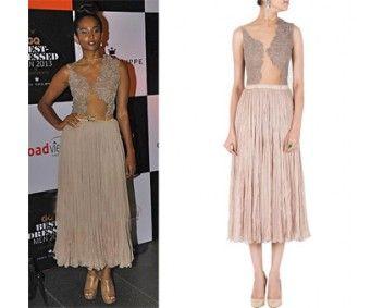 Nidhi Sunil in Sailex #perniaspopupshop #shopnow #celebritycloset #designer #clothing #accessories