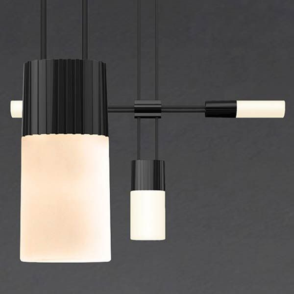 Pendant With Chiclets By Sonneman