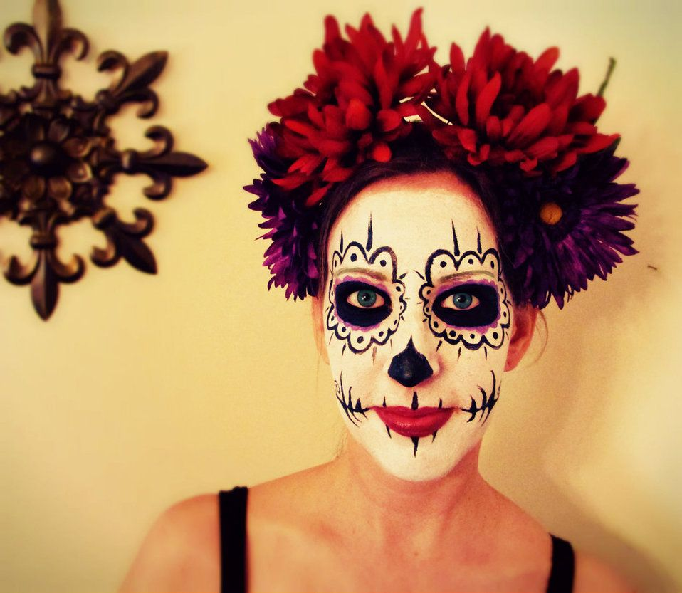 Day of the dead makeup commission by mizjaytee on deviantart day of the dead makeup commission by mizjaytee on deviantart baditri Images