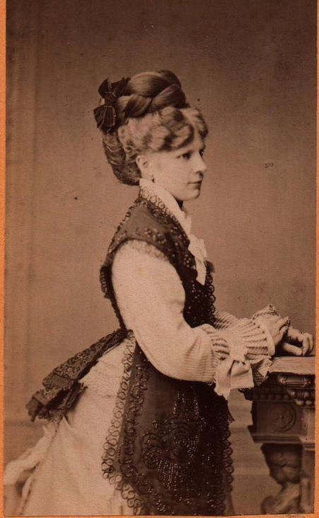 circa 1875 1870's fashion