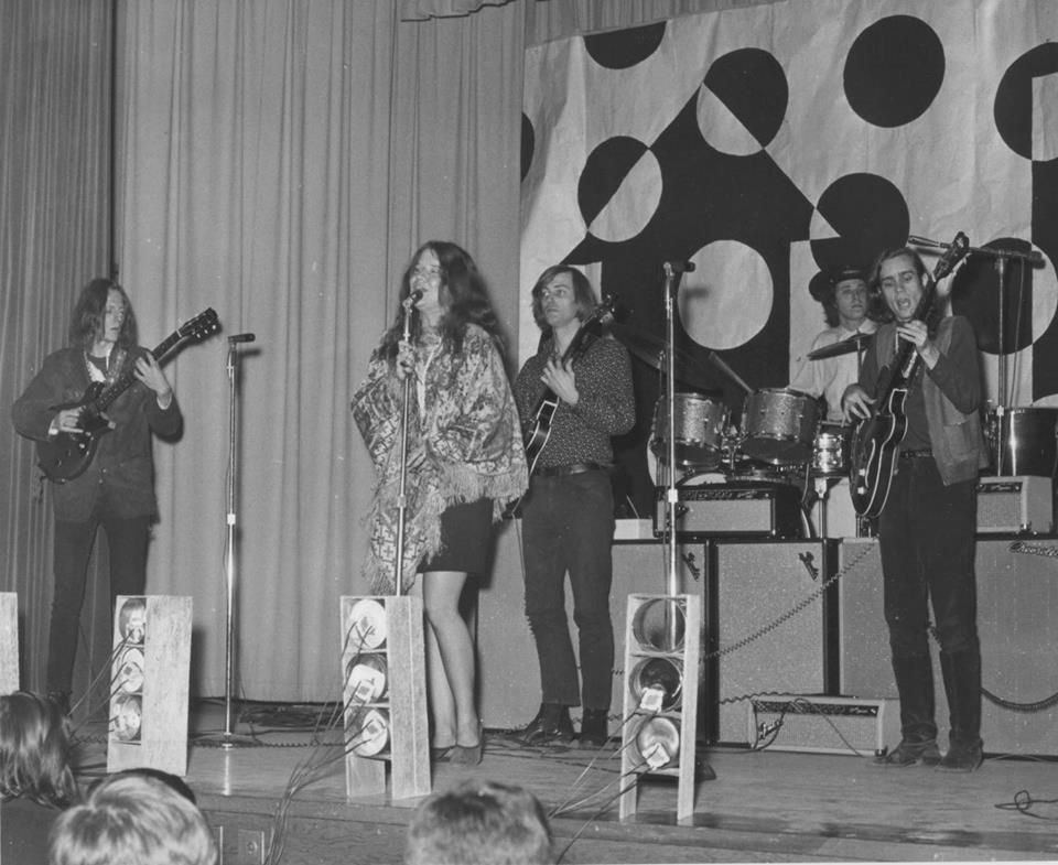 713d732293f Big Brother and the Holding company with Janis Joplin 1966 JOHN SWETT HIGH  SCHOOL – CROCKETT