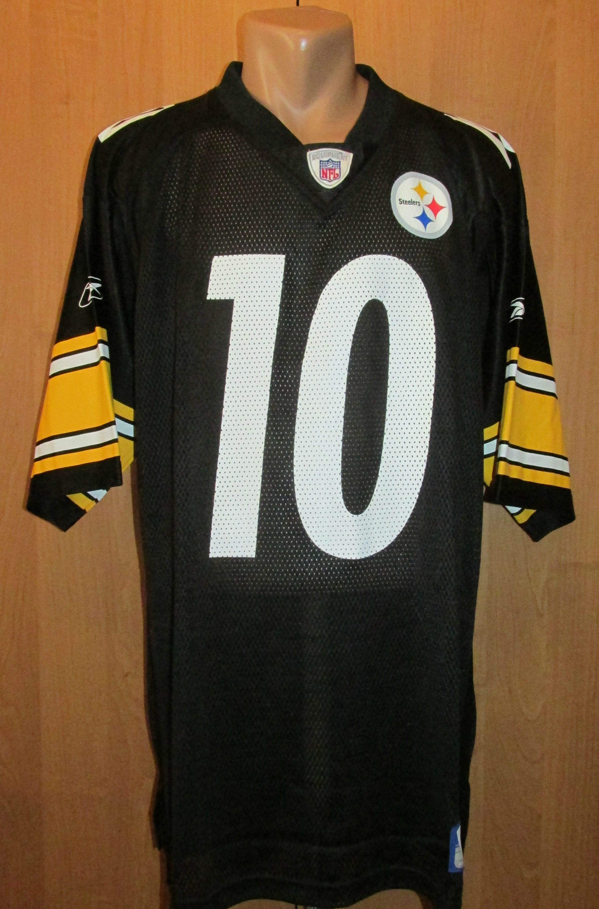 NFL Pittsburgh Steelers Kordell Stewart  10 football jersey by Reebok  NFL   football  USA  pittsburgh  steelers  reebok  jersey  stewart 759c76df7