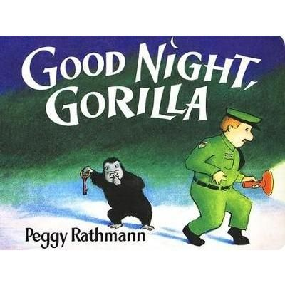 A gorilla pickpocketed the zookeeper's keys. As the zookeeper says goodnight to the animals the gorilla unlocks the cages right behind him. All the animals follow the zookeeper home. This is a great bedtime book for your preschooler.