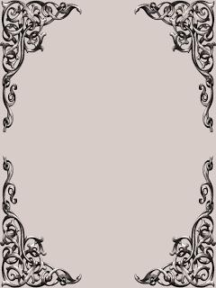 Free Png Psd Psp Tubes From Pewter7 Fancy Corner Scroll Frame Set Scrapbook Designs Frame Set Frame