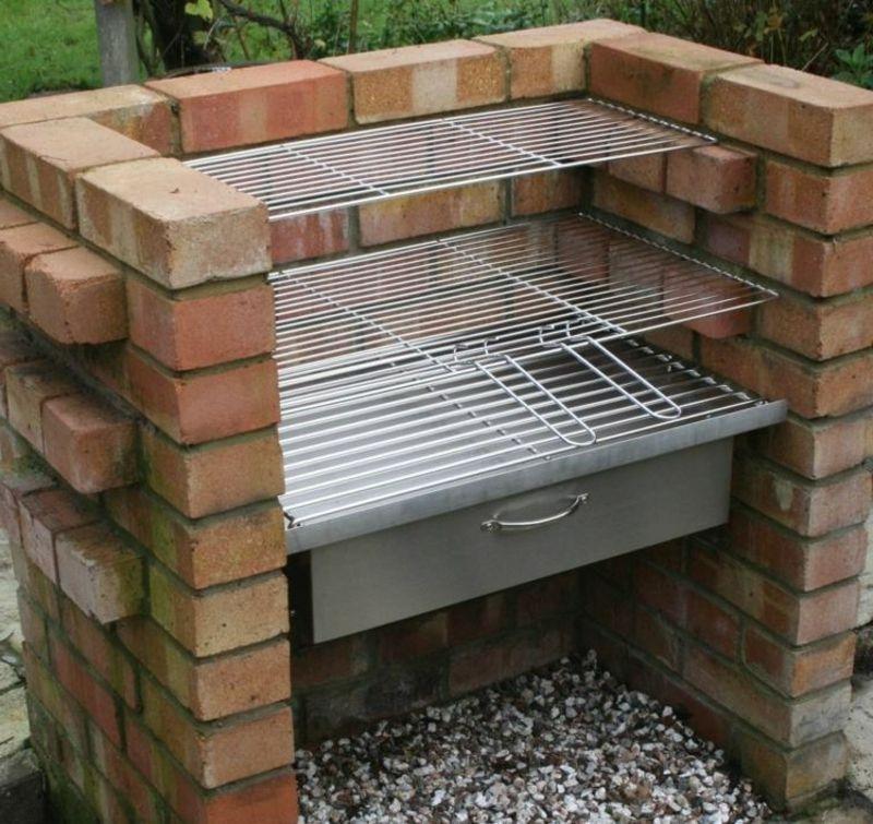 steingrill selber bauen garten schamottstein garten terrasse ideen garden barbecue. Black Bedroom Furniture Sets. Home Design Ideas